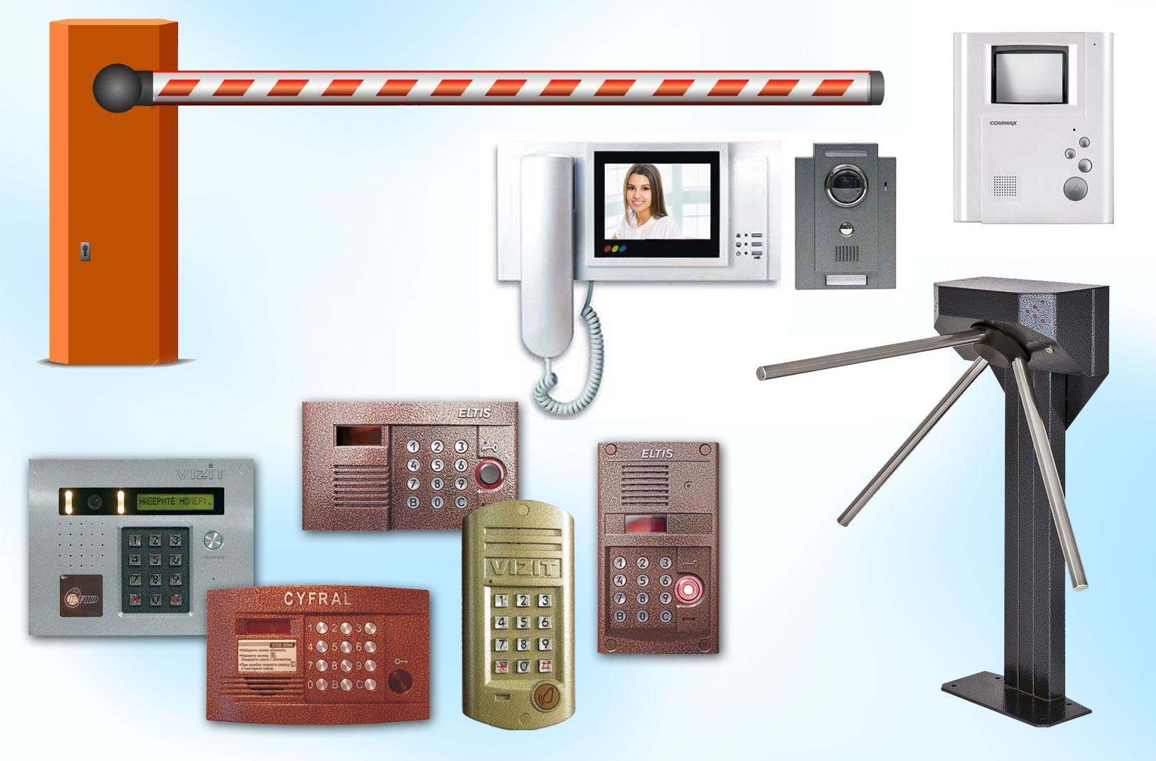 Системы контроля доступа. ПрофОхрана Псков
